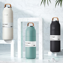 Travel Water Bottle 304 Stainless Steel Thermos Bottle Thermal Cup Vacuum Flask 350ml Coffee Insulated Cup Thermo Mug 6-12 Hours sport water bottle coke coffee thermos stainless steel shaker bottle insulated tumbler beer milk tea thermal cup vacuum flask