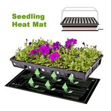 Sämling Heizung Matte Wasserdicht Durable Keimung Station Warme Hydrokultur Heizung Pad Für Indoor Hause Gartenarbeit Samen 20x10in