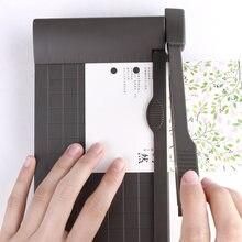 Портативный резак для бумаги a5 с пластиковой основой канцелярский