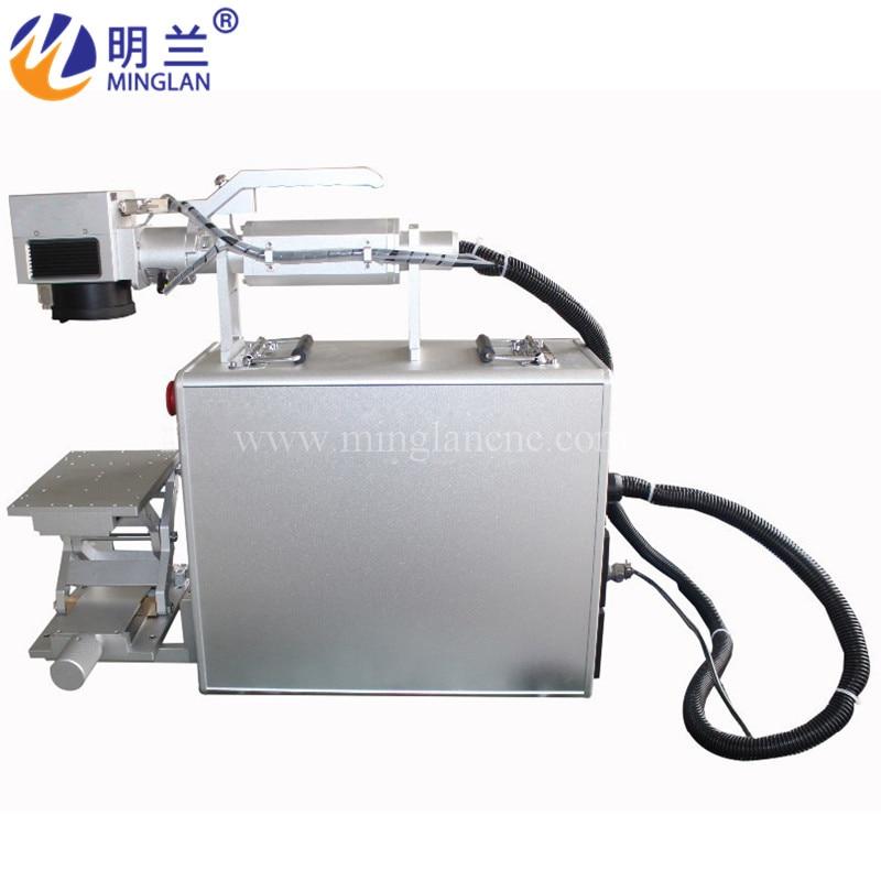 50W Cloudray 20-30W Fiber Laser Intelligent Marking Machine SmartMarker For Marking Metal Stainless Steel