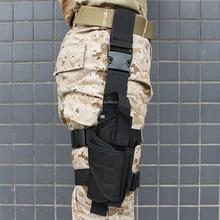 Paintball Thigh Gun Holster Military Tactical Hunting Cs Leg Holster for Glock 17 19 23 32 36 Beretta M9 92 Glock Accessories