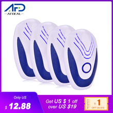4pcs Ultrasonic Mice Repeller Electronic Ultrasound Mouse Insect Reject Anti Mosquito Repellent Cockroach Bug Rat Rejection