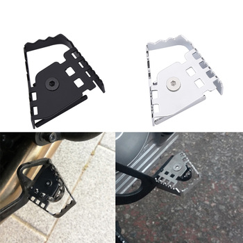 for bmw f 800 gs f800 gs f800gs 2009 2010 2011 2012 2013 2014 2015 f700gs motorcycle rear brake disc brake disk brake rotor Rear Brake Peg Pad Enlarge Extender Motorcycle Brake Lever Extension Extender For BMW F800GS F700GS F650GS F 800 700 650 GS