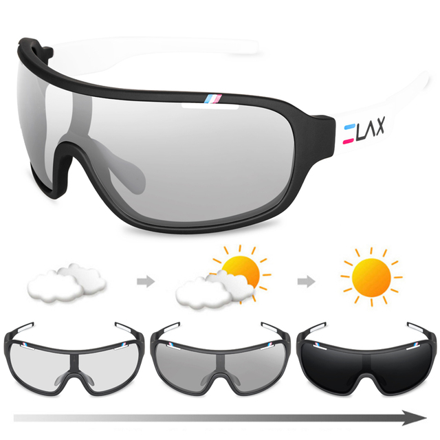 2020 polarizado photochromic uv400 ao ar livre estrada ciclismo eyewear esportes ciclismo óculos de sol das mulheres dos homens bicicleta 3