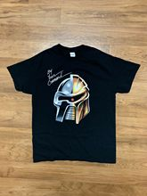 Battlestar Galactica Daft Punk Mashup Shirt Men's M By Your Command Nerd Block Men T-Shirt Cotton 100% top tee