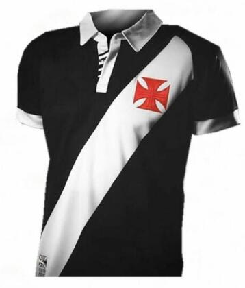2019 Hommes T-shirt branca Vasco para vasco da gama preto 19/20 Camiseta de futbol Camisa Lazer moda camisas navio Livre