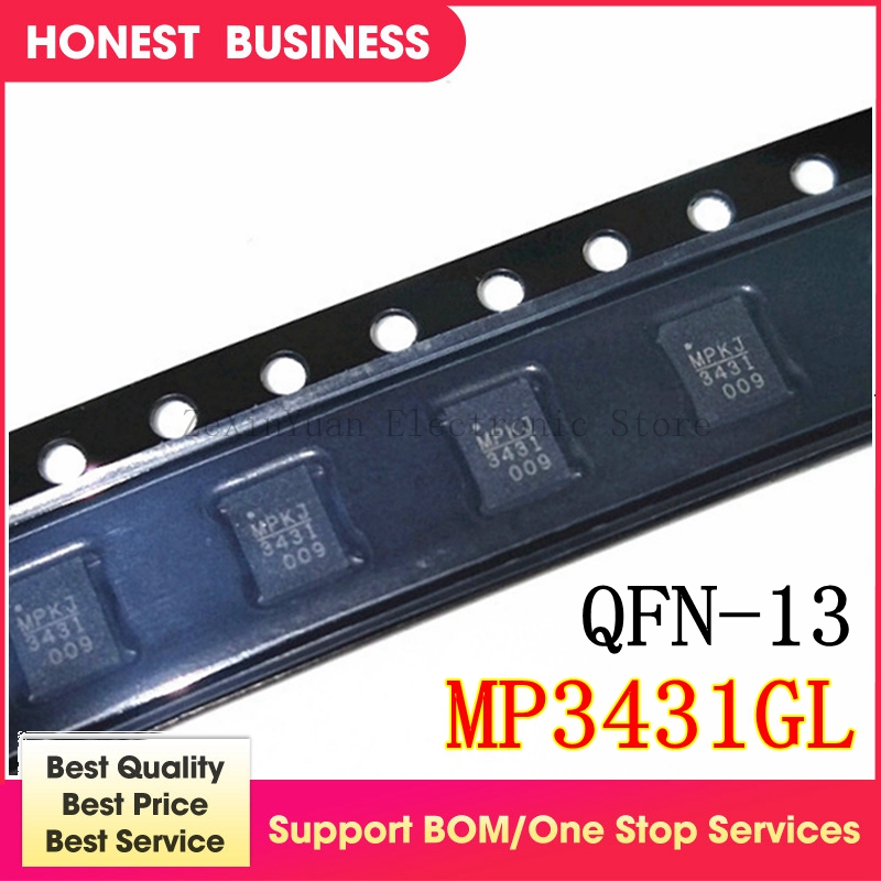 2PCS MP3431GL MP3431 QFN-13 Chipset 100% New Original