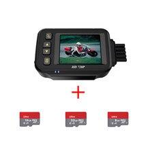 Kamera do rejestracji wideo motocykla 720 P z SD 8/16/32G Full Body wodoodporny rejestrator jazdy motocyklowej mały motocykl czarny GPS Box