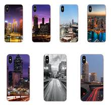 Day Night Landscape Atlanta City Poster For LG G3 G4 G5 G6 G7 K4 K7 K8 K10 K40 K50 Q6 Q60 V10 V20 V30 V40 Nexus 5 5X 2017(China)