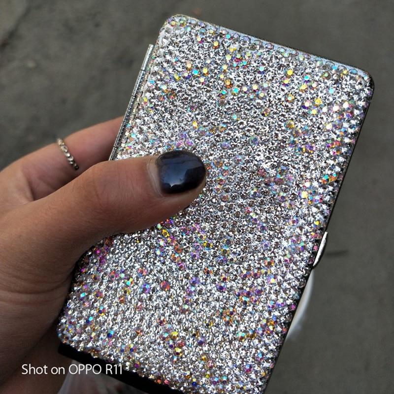 Portable-Women-Double-Sided-Diamond-Case-Bling-Crystal-Slim-Cigarette-Box-Holder-For-14-Pcs-Cigarettes-USB-Charging-4