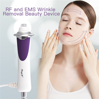 RF Radio Frequency EMS Mesotherapy Facial Heating Machine  LED Photon Skin Tightening Lifting Rejuvenation Anti Wrinkle Beauty rf ems skin rejuvenation facial massager face lifting tightening anti aging wrinkle blackhead removal led photon beauty device