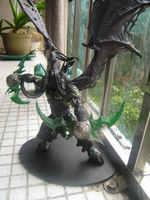 Monde de Warcraft démon chasseur modèle DC5 S démon forme Illidan coffret Garage Kit