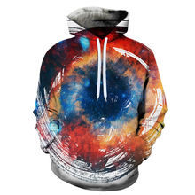 3d Psychedelic Hoodies Men Winter Vortex Hypnosis Printed Hoodie Fantasy Anime Sweatshirt Long Colorful Mens Clothing 6XL(China)
