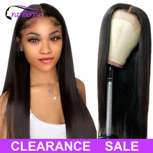 Brazylijski prosto zamknięcie peruka ludzki włos peruki dla czarnych kobiet żurawina włosy 4x4 zamknięcie peruka częściowo koronka peruka wstępnie oskubane Hairline