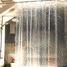 Waterproof 3D Shower Curtain With 12 Hooks Bathing Sheer For Home Decoration Bathroom Accessaries 180X180cm 180X200cm