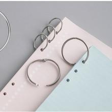 40PCS16MM metal retaining ring binding buckle nickel plated