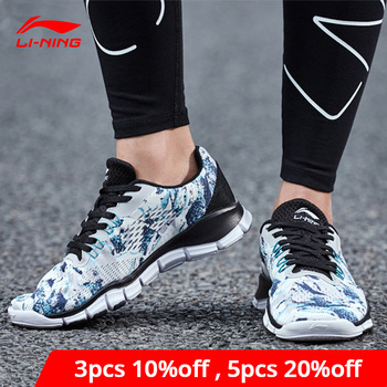 Li-Ning Women SUPER TRAINER W Training Shoes Breathable Free Flexible Sneakers LiNing li ning Sport Fitness Shoes AFHN022 YXX034