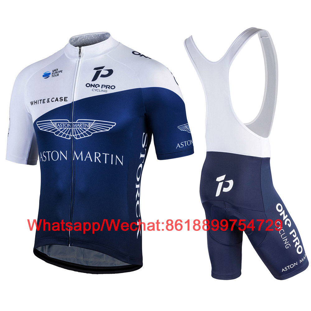 One Pro Aston Martin Storck Europe Cycling Suit 2020 Met White Case Shirts Bike Jersey Ciclyng Set Ciclismo Uniformes Maillot 1