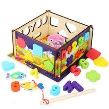 Номер Форма игрушка сортировщик геометрические Головоломки блоки