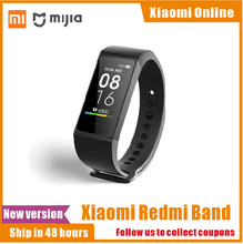 In Stock Xiaomi Redmi Band new 4 Wristband 5 Heart Rate Fitness Sport Tracker Waterproof Bracelet Touch Large Smart Color Screen