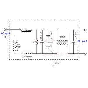 Image 5 - Lusya 2A 4A 15A 25A EMI filtr zakłóceń elektromagnetycznych moduł zasilanie prądem zmiennym filtr T1186