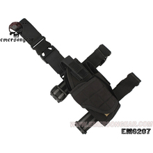 emersongear Drop Leg Holsters Universal Black Pistol Thigh Holster Right Left Tactical Tornado Mag Pouch Quick