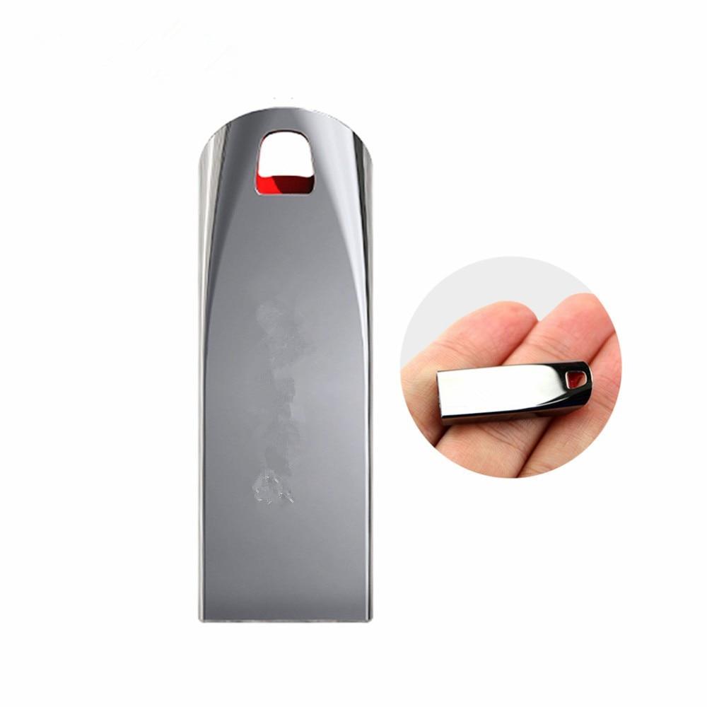 New 100% Full Capacity Super Tiny Waterproof USB Flash Drive 128GB 64GB 32GB 16GB 8GB Pen Drive Flash Pendrive Memory Usbstick