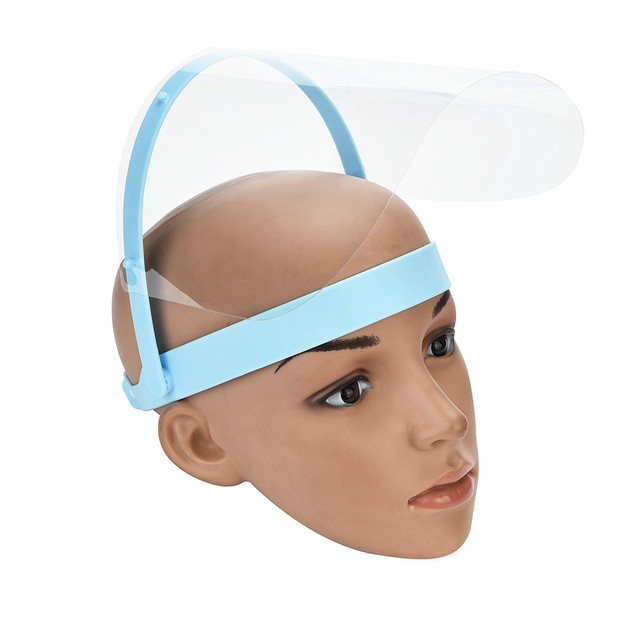 Protective Adjustable Anti Droplet Dust Saliva -proof Full Face Cover Mask Droplet virus Windproof Face Shield Washable 2
