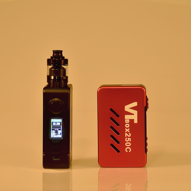 VAPECIGE DNA Box Mod with Newest DNA250C Chip 200W VTBOX250C for Dual 18650 battery