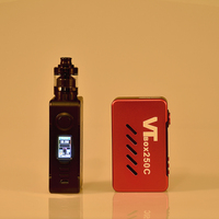 VAPECIGE DNA Box Mod with Newest DNA250C Chip 200W Box Mod VTBOX250C for Dual 18650 battery