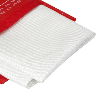 1M X 1M Fire Blanket Fiberglass Fire Flame Retardant Emergency Survival White Fire Shelter Safety Cover Fire Emergency Blanket 2