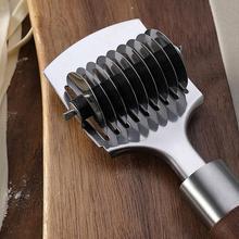 Нержавеющая сталь, легкий, чистый, не окисленный, легкий, кухонный многофункциональный, быстрый многоразовый домашний ручной прибор для лапши, резак инструменты