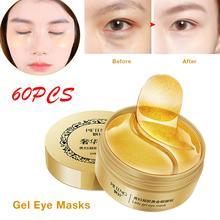 купить 60pcs Eye Mask Gel Eye Patches Eye Care Sleep Masks for Eye Bags Wrinkle Dark Circle дешево