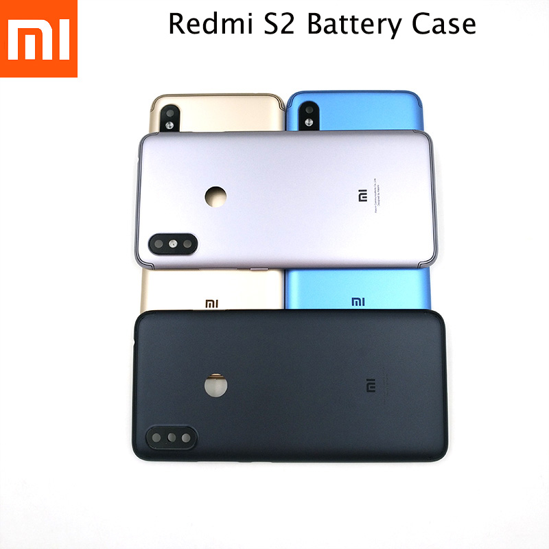 Original Xiaomi Redmi S2 Back Door Housing Case For Redmi S2 Replacement Protection Phone Battery Back Shell Cover With Logo-in Fitted Cases from Cellphones & Telecommunications