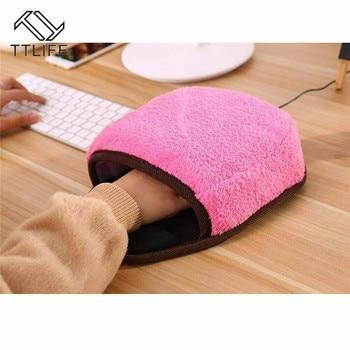 Alfombrilla de ratón climatizada con USB Alfombrilla de ratón calentador de manos...