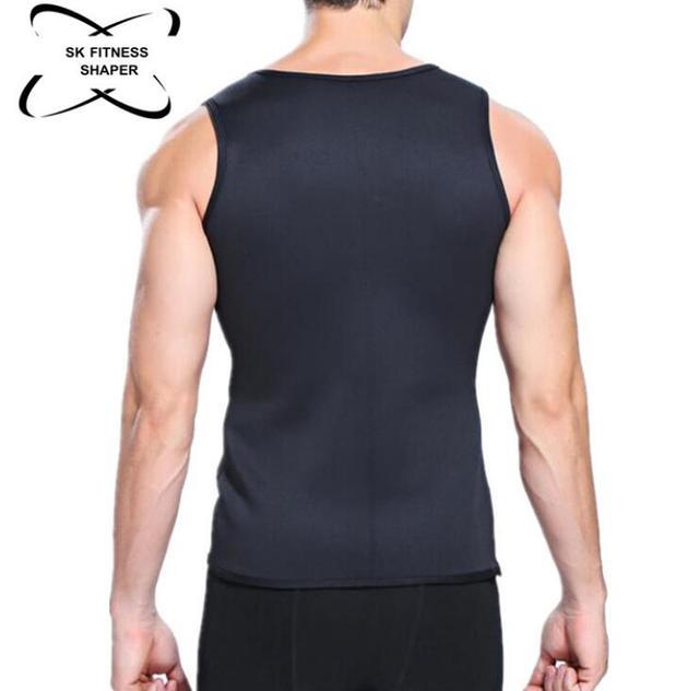 Slimming Belt Belly Men Slimming Vest Body Shaper Neoprene Abdomen Fat Burning Shaperwear Waist Sweat Corset 2