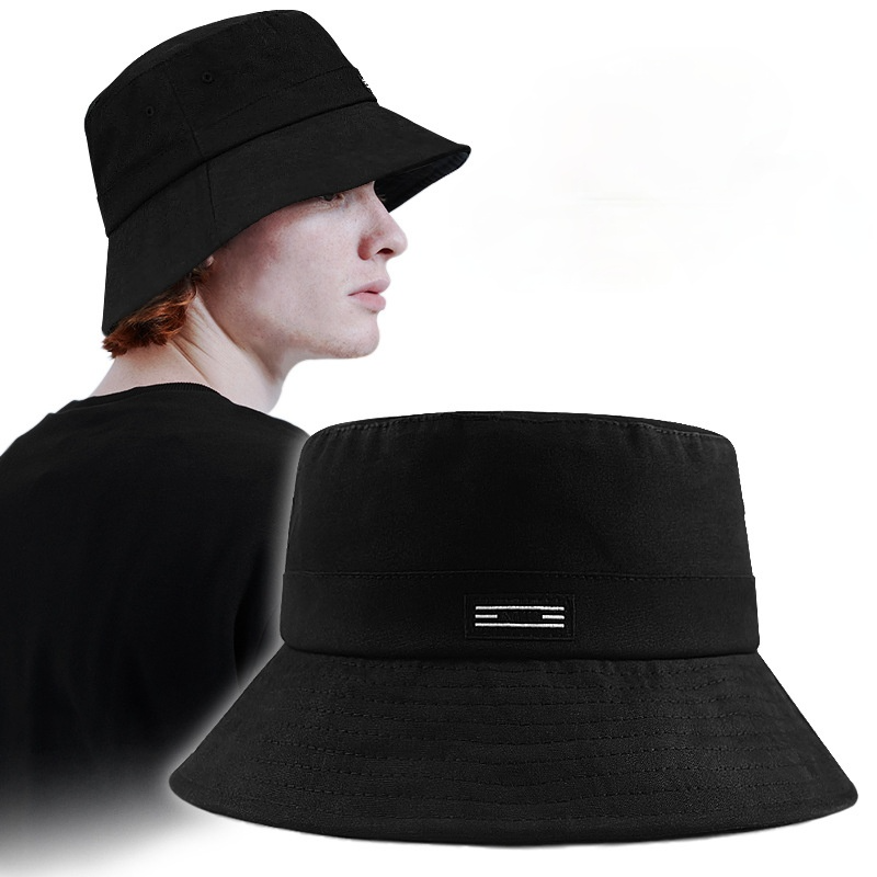 Big Head Circumference Men's Hat Fisherman Sun Protection Hat Big Brim Spring and Autumn New Large Size Fashion Bucket Hat