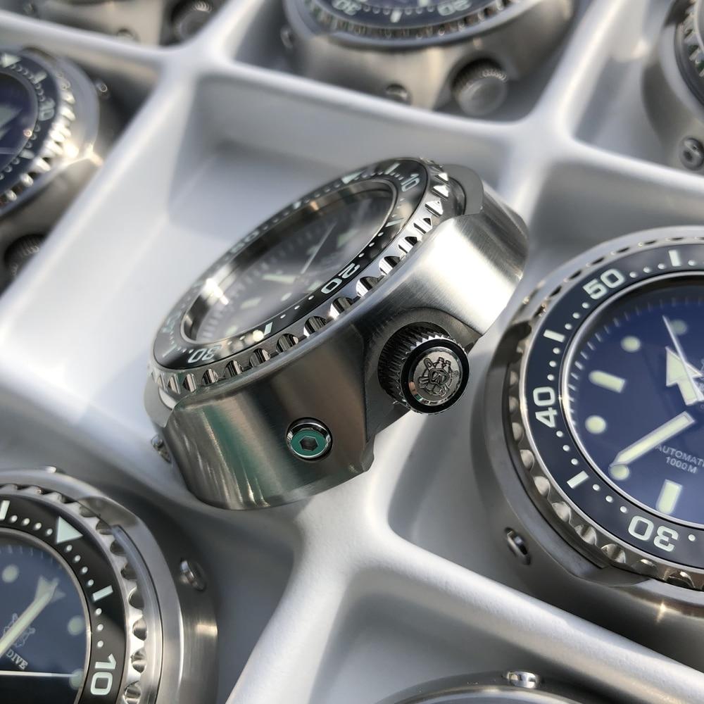 água relógios mecânicos men 316l aço inoxidável