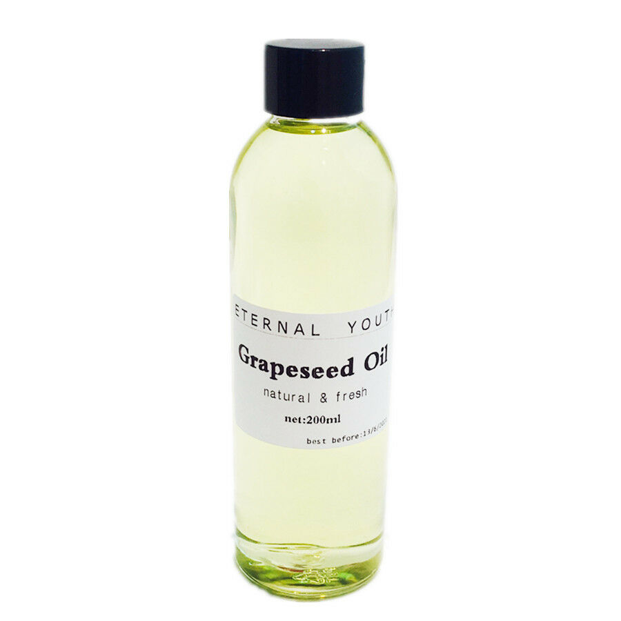 Natural Grapeseed Essential Oil Cold Pressure Grape Seed Soap Carrier Oils