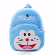 Kids Backpack Waist-Bag Travel School Children Plush-Girl Cartoon Cute Satchel Boy Fashion