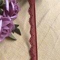 S1990 Красный Эластичный 1,5 см эластичная кружевная отделка из эластичного кружева лента для волос ребенка Кепка для Аксессуары для шитья, мяг...