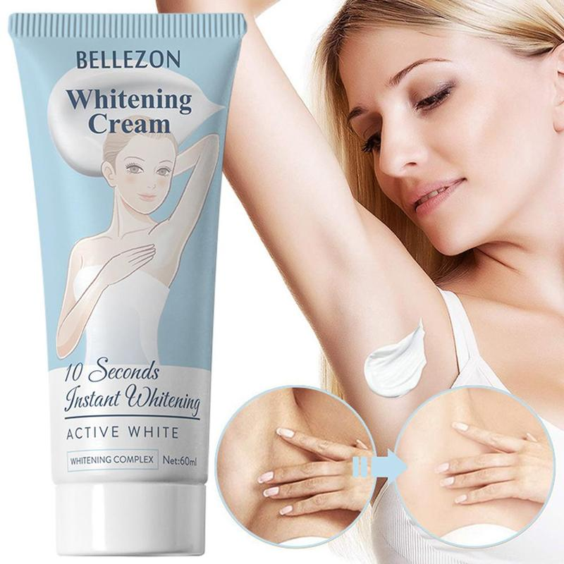 10 Seconds Instant Whitening Cream Underarm Armpit Antiperspirant Whitening Cream Legs Knees Private Parts Body Whitening Cream 1