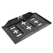 Durable Black 13.5 Inch Iron Universal Car Battery Tray Plate Auto Accessory