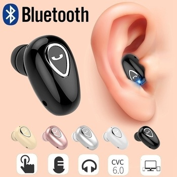 New Wireless Bluetooth Earphone Mini Invisible In-Ear Sports Earbuds with Microphone Super Stereo Earphones