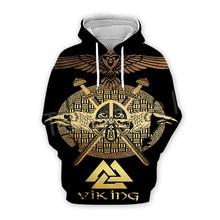 Tessffel Unisex Viking Tattoo Warriors Tracksuit NewFashion casual MenWomen 3DPrint Sweatshirts/Hoodie/shirts/Jacket s-9