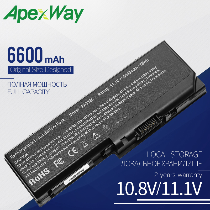11.1V Laptop <font><b>Battery</b></font> PA3536U-1BRS for <font><b>Toshiba</b></font> <font><b>Satellite</b></font> <font><b>L350</b></font> L355 L355D P200 P200D P205 P300 P305 Series PABAS100 PABAS101 9Cell image