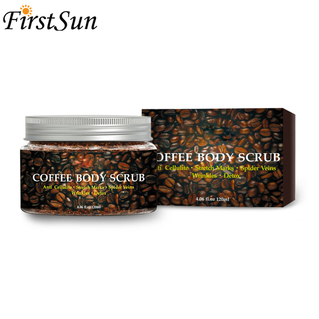 Coffee Scrub Body Scrub Cream Facial Dead Sea Salt For Exfoliating Whitening Moisturizing Anti Cellulite Treatment Acne 3