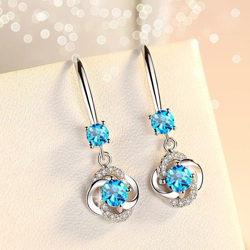 Silver Zirconia Earrings 5