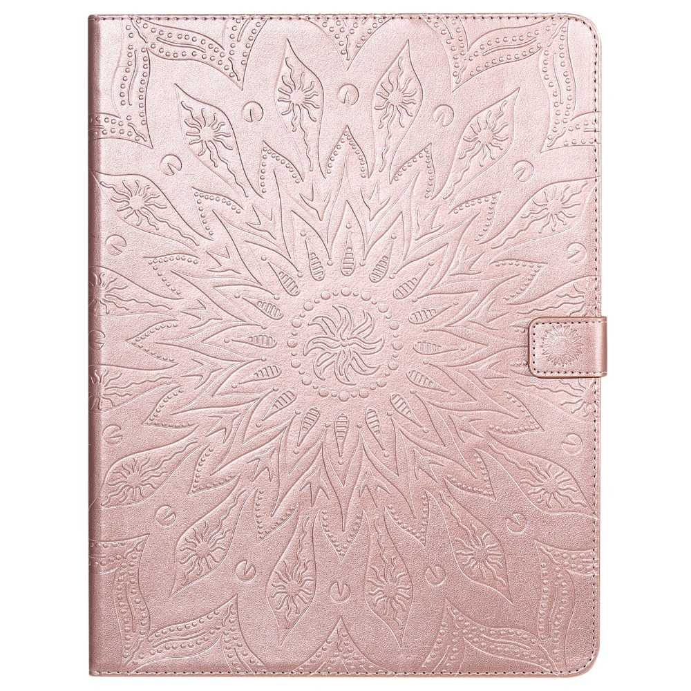 12 Protective Shell Skin for iPad Cover Case Flower Embossed 9 Pro 3D Leather 2020