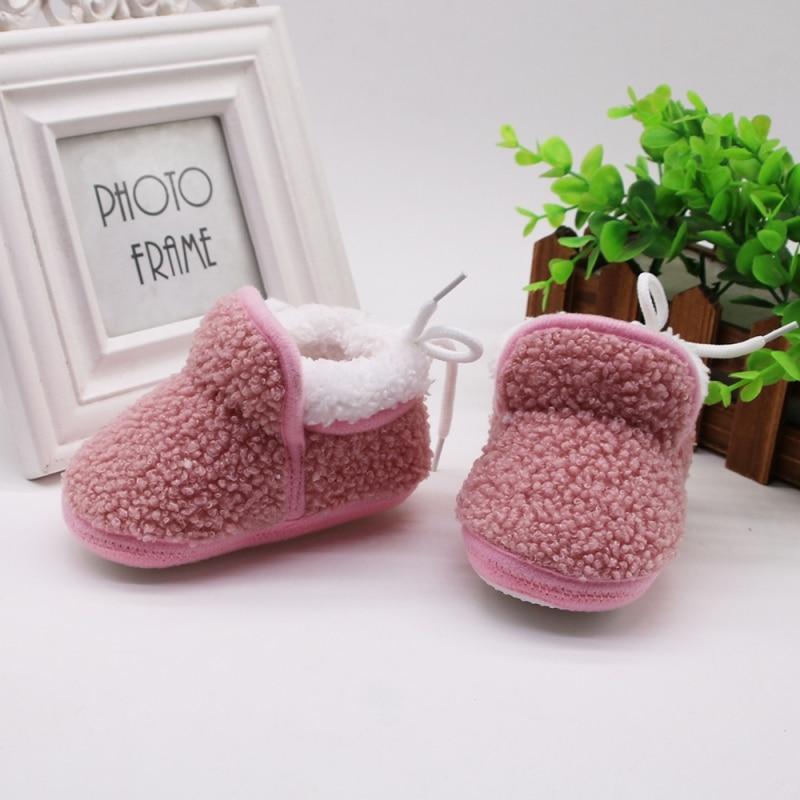 Winter Baby Boys Girls Shoes Winter Infants Warm Shoes Girls Baby Booties Cloth Boy Baby Boots